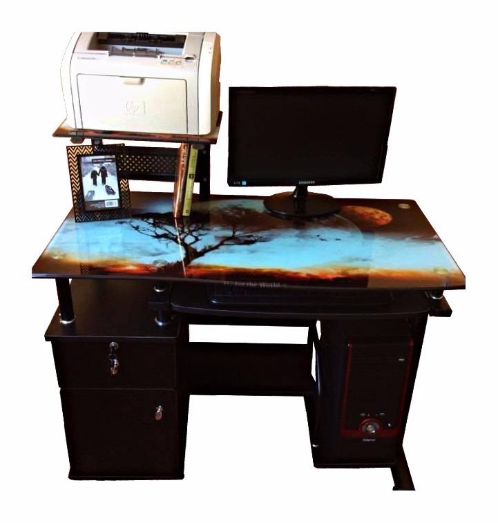 Escritorio mueble para computadora s 350 00 en for Muebles para supermercado