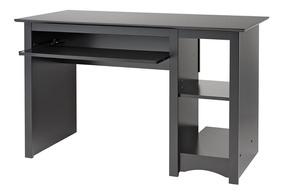 Escritorio Para Computadora.Escritorio Mueble Para Computadora De Prepac Negro Vbf