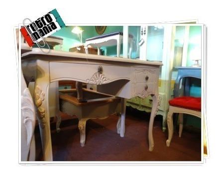 escritorio normando provenzal a pedido madera noble