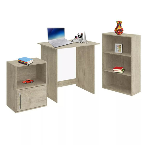 escritorio notebook estante librero sonora 43654 fernapet