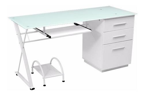 escritorio of. computador secretaria archivo vidrio 10265