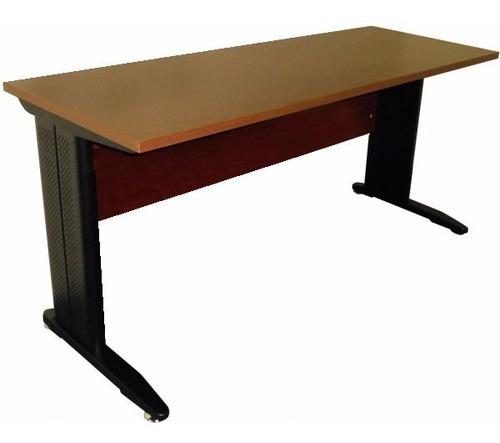 escritorio oficina base metal 1,50 cajonera rodante strada.