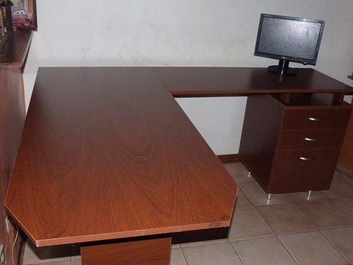 escritorio oficina tipo l. grande.