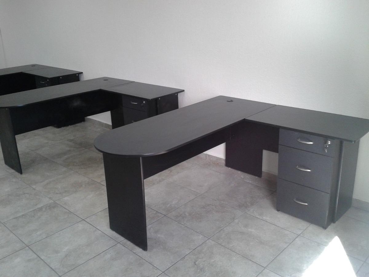 Escritorio operativo mesa binaria blanca - Mesa de escritorio blanca ...