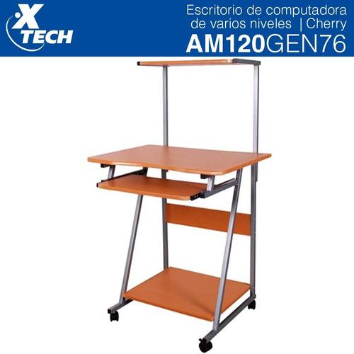 escritorio para computadora 3 niveles xtech cafe am120gen76