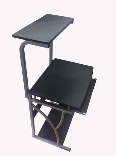 escritorio para computadora e impresora multinivel
