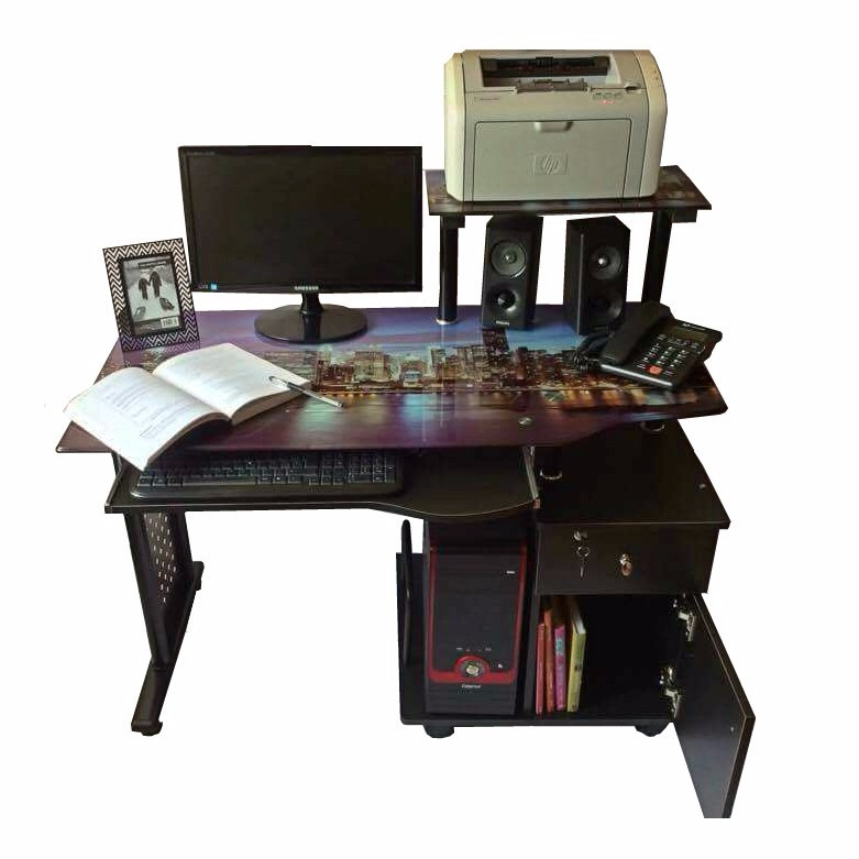 Escritorio para computadora mueble de computo para for Cotizacion muebles para oficina