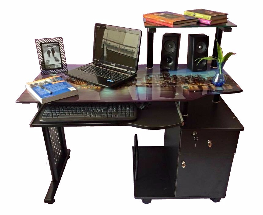 Escritorio para computadora mueble de computo para for Muebles de oficina jm romo