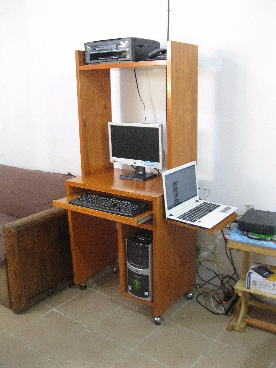 Escritorio para computadora pc y lap top multifuncional for Computadoras para oficina