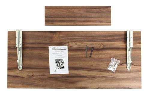 escritorio para computadora plegable 100x45 cm repisa gratis