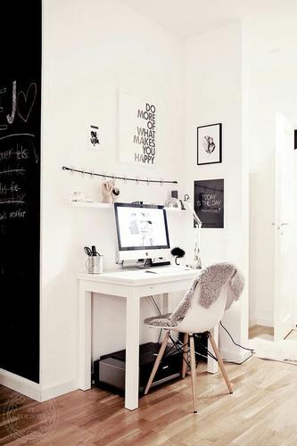 escritorio para espacio pequeño