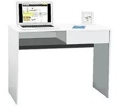 escritorio para notebook 9038 cajon y estante kromo-s