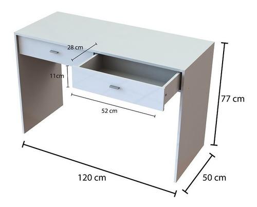 escritorio para oficina 2 cajones centro estant sc8250