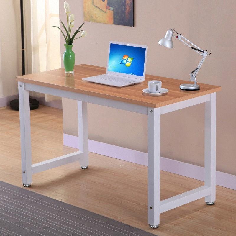 Escritorio para oficina u hogar de madera y metal 0504 for Escritorios de hogar