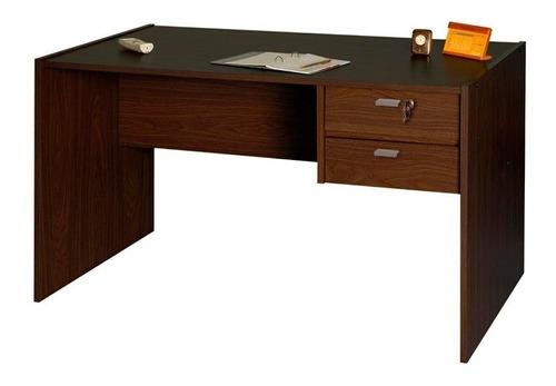 escritorio planitum 502 1.2mts 2 cajones con cerradura