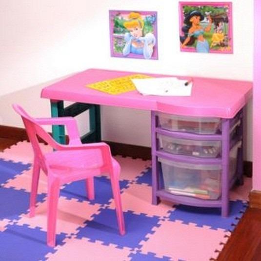 Escritorio Plástico Infantil Vanity Rimax  $ 270000 en Mercado