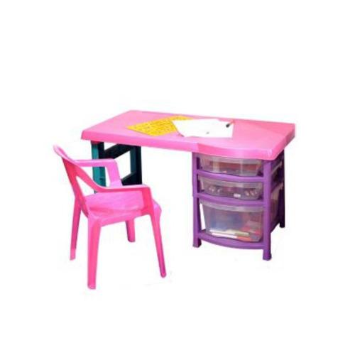 escritorio plástico infantil vanity rimax
