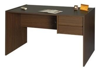 escritorio platinum 2 cajones kromo-s
