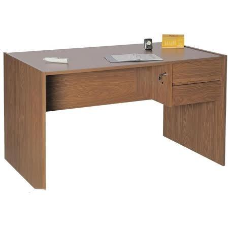 escritorio platinum  mod 402 1.20  2 cajones cerradura
