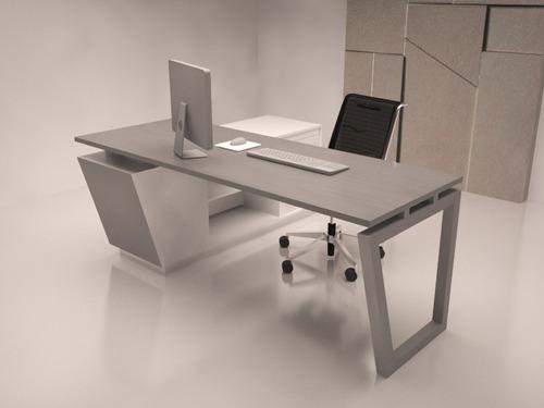 escritorio presidencial modular oficina mueble gerencial