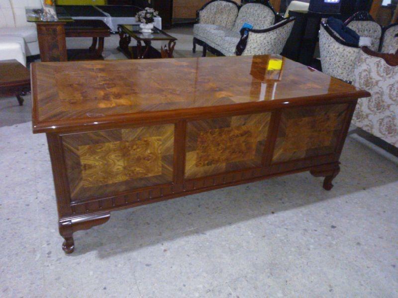 Escritorio provenzal modelo londres en madera fina - Modelos de escritorios de madera ...