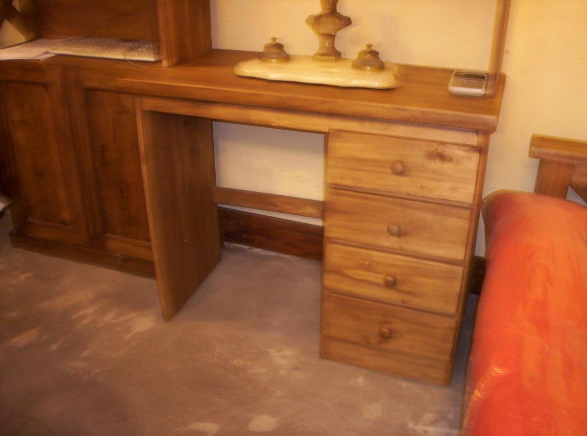 escritorio rstico con cajones o para pc