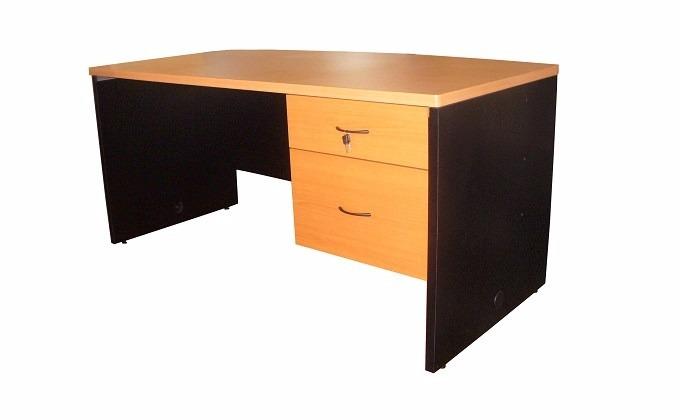Escritorio secretarial 120x60 melamina 2 en for Escritorios para oficina precios