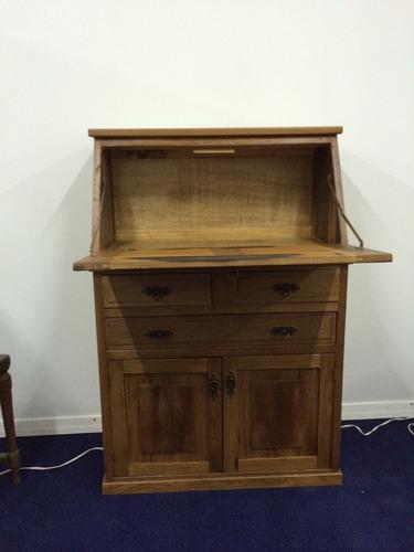 escritorio secreter en roble