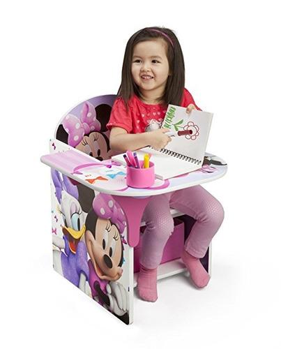 escritorio silla para comer disney minnie mouse delta