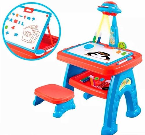 escritorio tablero magico mesa didactico niño niña proyector