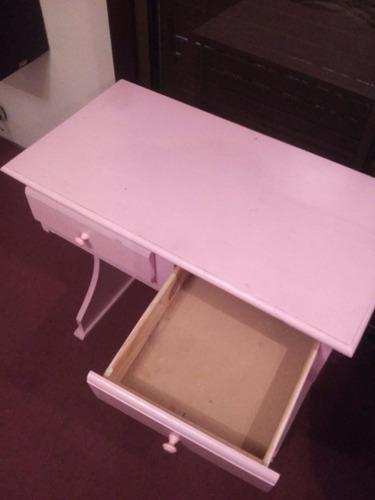 escritorio tocador con espejo