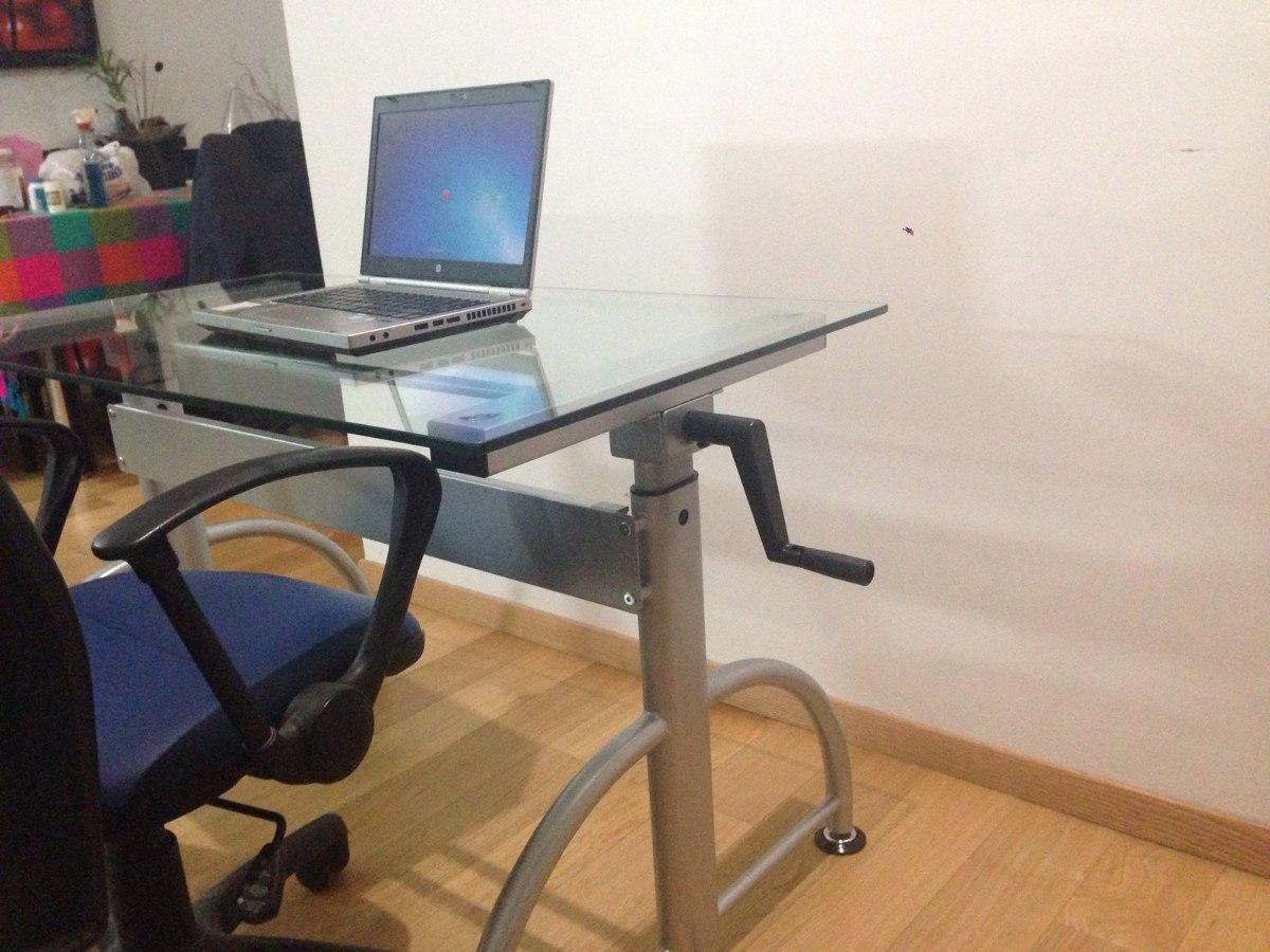 Escritorio y restirador 2 en 1 moderno sistema de altura for Escritorio ergonomico caracteristicas