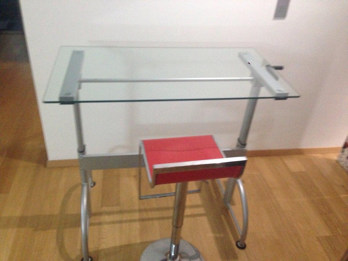 Escritorio y restirador 2 en 1 moderno sistema de altura for Altura de un escritorio