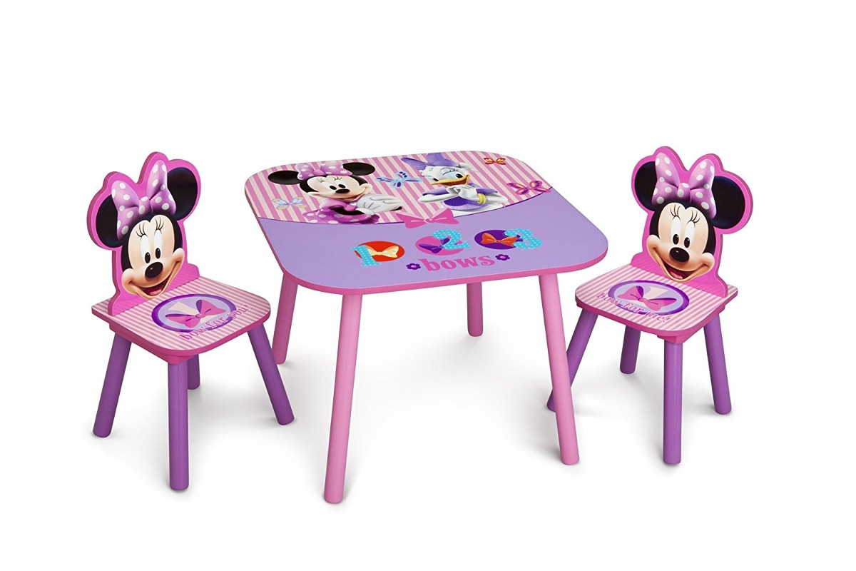 Escritorio Y Silla Minnie Mouse Para Ni As 359 900 En Mercado  ~ Sillas De Escritorio Para Niñas