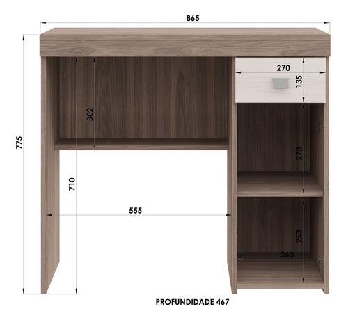 escritorio yardas modelo 4032 bicolor