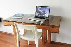 escritorio yugo 120x70x75 madera reciclada pantano pallet