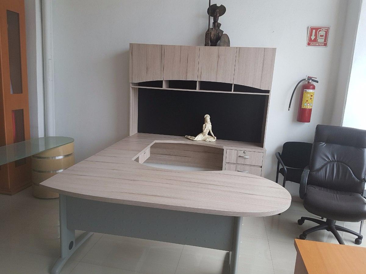 Escritorio credenza archivero y librero centro ejecutivo - Escritorio de pared ...