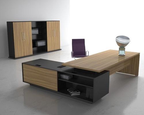 escritorios de oficina ejecutivo, minimalista