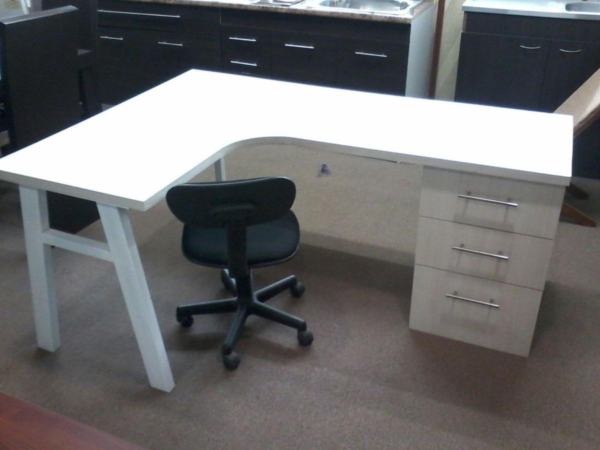 escritorios diseo l xcm con archivero