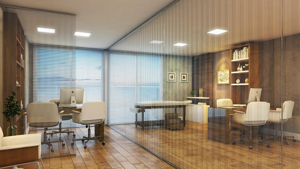 escritórios e consultórios de 40m² 10 salas por andar 2 wc por sala - sa0169