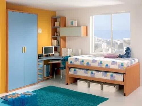 escritorios infantiles juveniles camas desplazadas nido