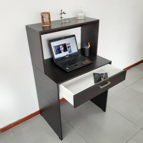 escritorios minimalistas 70cm c cajones organizador librero