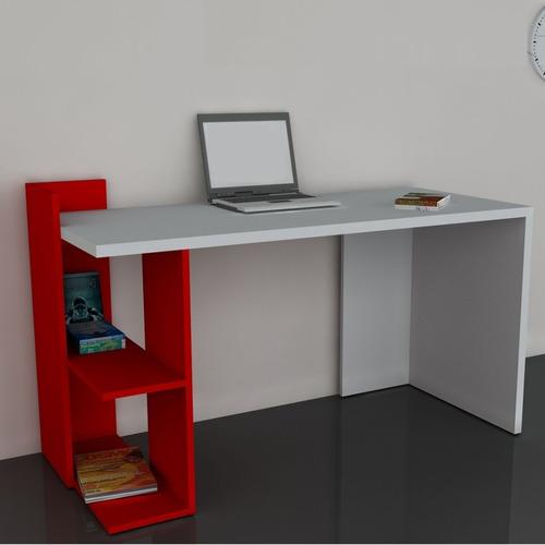 escritorios modulares minimalistas modernos con repisas