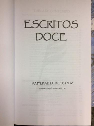 escritos doce- amylkar d. acosta m.