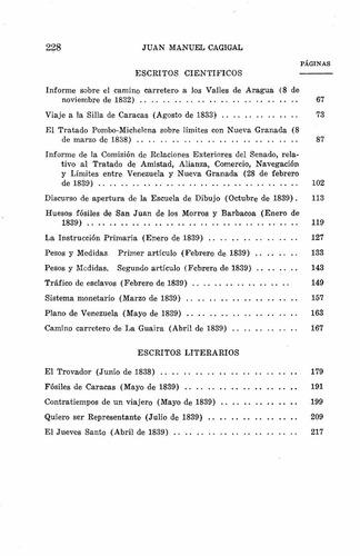 escritos literarios y cientificos juan manuel cagigal