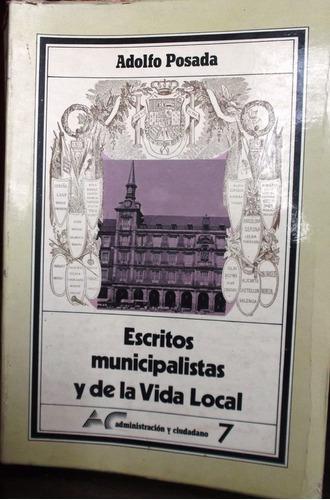 escritos municipalistas y de la vida local
