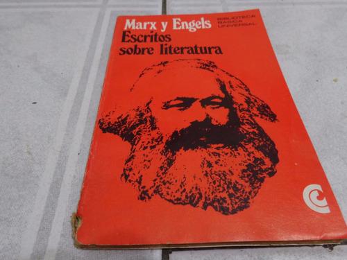 escritos sobre literatura  --- marx / engels