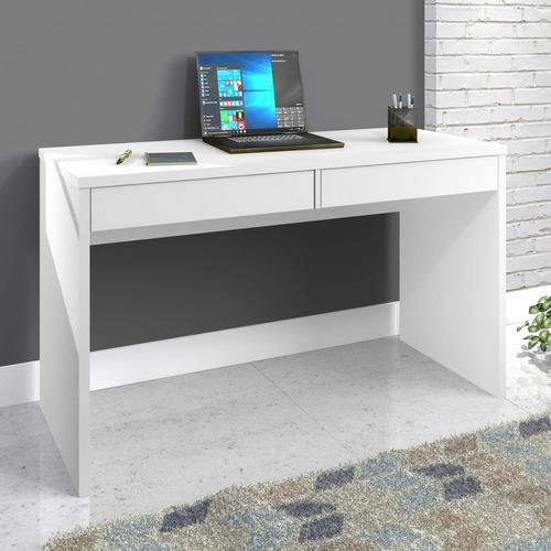 escrivaninha 2 gavetas max zanzini branco artico f