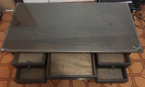 escrivaninha antiga em madeira de lei