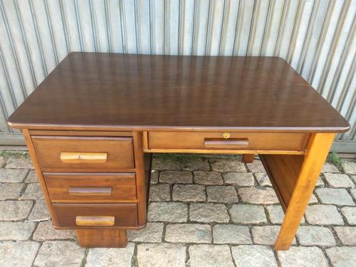 escrivaninha antiga madeira cimo